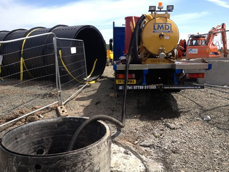 LMD - Vac-Tron Chathill for Wet Excavation