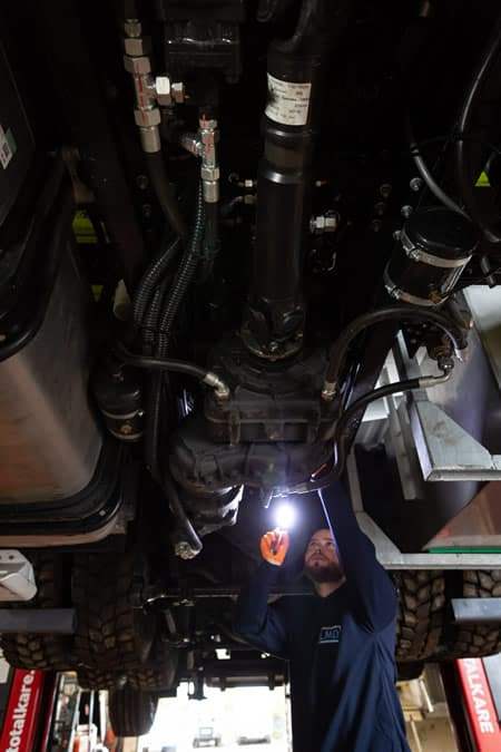 LMD - maintenance and repair